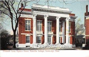 Elizabeth Carey Agassiz House at Radcliff College Cambridge, MA