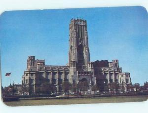 Unused Pre-1980 CHURCH SCENE Indianapolis Indiana IN G3120