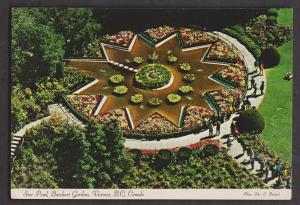 Star Pond In Butchart Gardens, Victoria, BC - Unused c1965