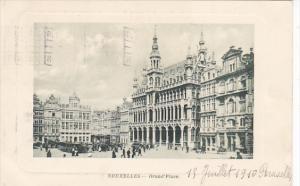 Belgium Brussels Grand Place 1910