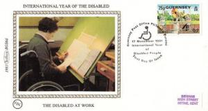 Disabled People At Work Benham First Day Cover FDC