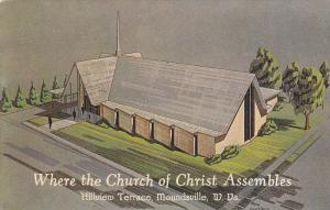 Church of Christ , Hillview Terrace , MOUNDSVILLE , West Virginia , 50-60s
