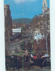 Pre-1980 STREET SCENE Hot Springs National Park Arkansas AR W1819