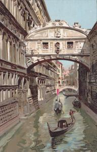 Venezia - Ponte dei Sospiri , Italy , 00-10s