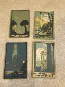 4 Rachael Robinson Elmer Postcards 1916