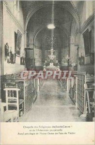 Postcard Old Chapel of the Sisters of coronations Hearts and Perpetual Adorat...