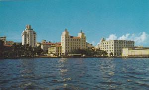 Skyline and Waterfront of  San Juan, Puerto Rico, 40-60s