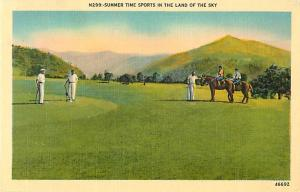 Linen of Summer Time Sport in the Land of the Sky NC?