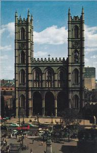Notre-Dame Church, Montreal, Quebec, Canada, 40´s-60´s