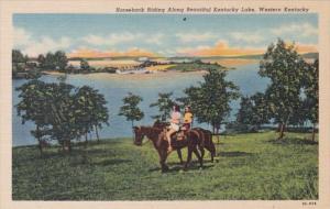 Kentucky Horseback Riding Along Beautiful Kentucky Lake Curteich