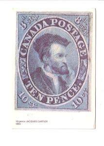 Post Office Issue Prepaid with Matching 8 Cent Stamp, Canada Post 10 Pence Ja...