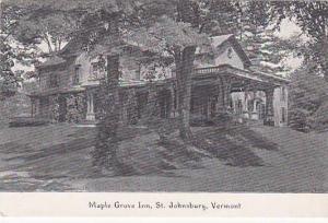 Maple Grove Inn, St. Johnsbury, Vermont, 00-10s