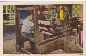 Michigan Dearborn The Plymouth Carding Mill Greenfield Village Curteich