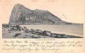 From San Felipe Gibraltar 1900 Missing Stamp