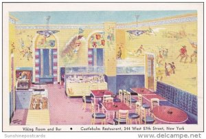 Interior Viking Room and Bar Castleholm Restaurant New York City