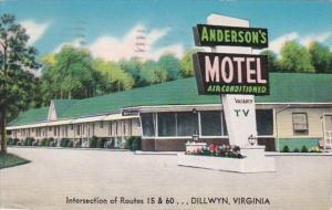 Virginia Dillwyn Anderson's Motel 1964
