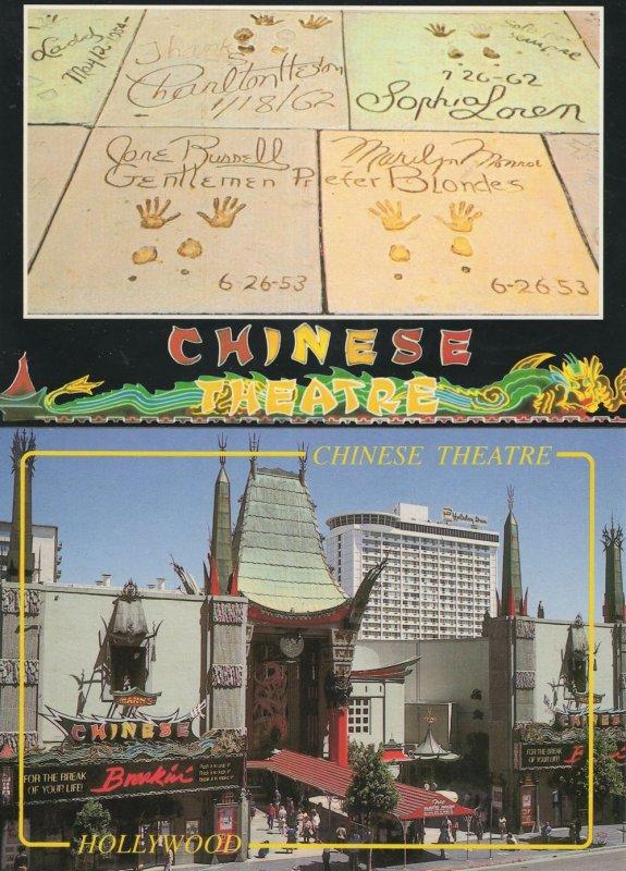 Chinese Theatre Hopscotch Street Art Board Breakdance 2x Postcard s