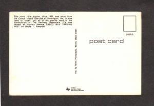 ME Crotch Island Quarries Stonington Maine Railroad Train Freeport Postcard