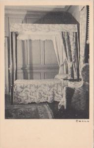 The Downstairs Bedroom At Mount Vernon Virginia
