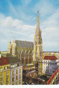 Austria Wien Vienna Saint Stephen's Cathedral