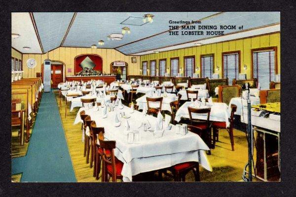 MA Lobster House Restaurant CHARLESTOWN MASS Massachusetts Postcard