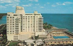Birds Eye View, Eden Roc Hotel on the Atlantic Ocean, Miami Beach, Florida 19...
