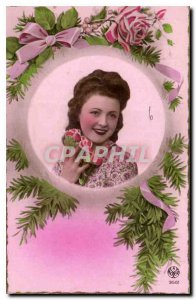 Postcard Good Old Happy Feast of St Catherine Female