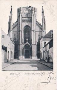 Belgium Louvain Eglise St Joseph 1903