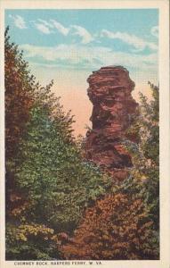 West Virginia Harpers Ferry Chimney Rock