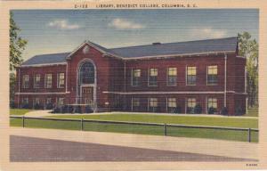 Exterior, Library,  Benedict College,  Columbia,  South Carolina,  PU_1951