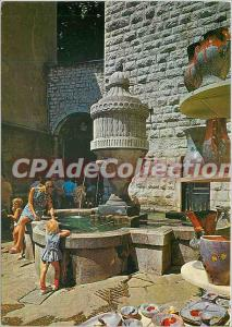 Modern Postcard Vence French Riviera French Riviera Fountain Square provencal...