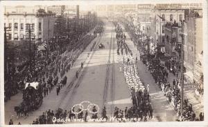 RP: Odd FEllows Parade , Winnipeg , Mantoba , Canada , 1912