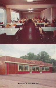 Russell's Restaurant , GRIFFIN , Georgia , 50-60s