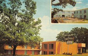 Mountain Home Arkansas Town And Country Motel Vintage Postcard K90859