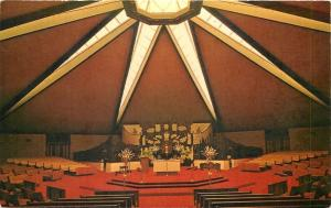 Rochester NY Starlight Red Interior~Annunciation Catholic on Norton St~1968 pc