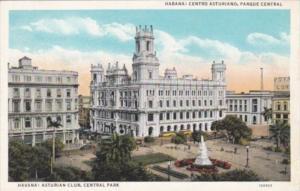 Cuba Habana Centro Asturiano Parque Central Asturian Club