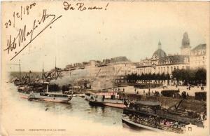 CPA ROUEN Pesrspective sur la SEINE (305423)