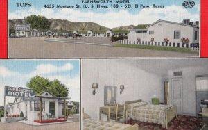 EL PASO , Texas , 1930-40s ; Farnsworth Motel