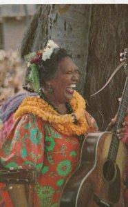 HONOLULU , HAWAII , 50-60s ; Performer in Kodak Hul;a Show