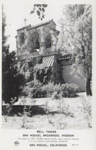 RP: SAN MIGUEL , California , 30-40s ; Bell Tower , Archangel Mission