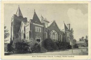 First Presbyterian Church , Carthage , North Carolina, PU-1946