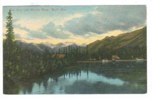 Bow Riverand Massive Range, Banff, Alberta, Canada, 00-10s