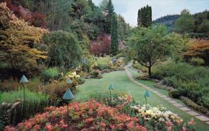 Sunken Garden, Butchart Gardens, VICTORIA, British Columbia, Canada, 40-60´s