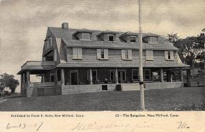 The Bungalow, New Milford, Connecticut, Early Postcard, used in 1907