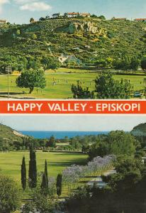 Happy Valley Episkopi Cyprus Postcard