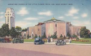 Michigan Royal Oak Shrine and Church Of The Little Flower Near Detroit