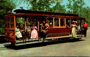 California Buena Park Knott's Berry Farm Ghost Town Cable Cars 1968