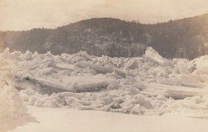 RP: SPRINGFIELD , Vermont , 1910s ; Ice