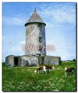Postcard Modern Vendee a picturesque Vieux Moulin