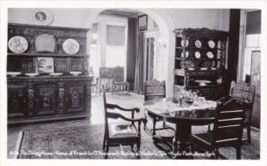 Dining Roon Franklin D Roosevelt National Historic Site Hyde Park New York Re...